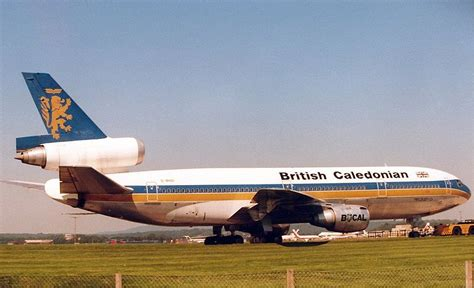 view of British Caledonian Airways McDonnell Douglas DC-10
